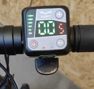 hulajnoga elektryczna egret TEN V2 - wystawowa.