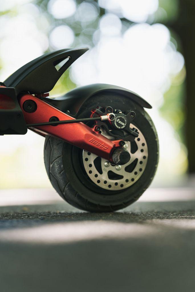 Kaabo Mantis 8 plus hulajnoga elektryczna koło